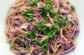 Linguine Red Cabbage