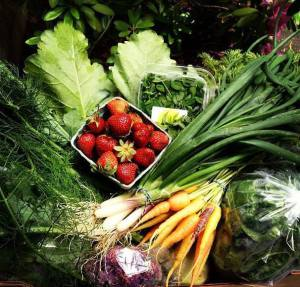 Local Produce Box from June 2013